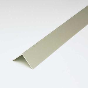 アルミアングル(薄口) 0.8x15x15x3640mm アルマイトシルバー|e-kanamono