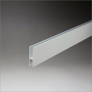 アルミハカマ 5mmガラス用 33mmHx3640mm アルマイトシルバー|e-kanamono