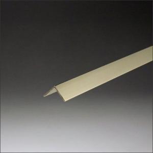 真鍮アングル 0.8x20x20x2000mm 磨き(#400)|e-kanamono