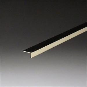 真鍮不等辺アングル 0.8x5x15x2000mm 磨き(#400)|e-kanamono