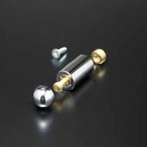 化粧ビスセット(真鍮製) 半球タイプ EPB-S15B-20 クローム e-kanamono