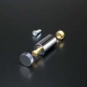 化粧ビスセット(真鍮製) ローレットタイプ EPB-S15R-20 クローム e-kanamono