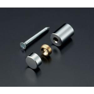 化粧ビスセット(真鍮製) フラットタイプ EPF-B13F-20 クローム|e-kanamono