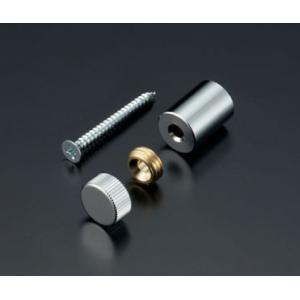 化粧ビスセット(真鍮製) ローレットタイプ EPF-B13R-15 クローム|e-kanamono