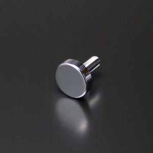 化粧ビス(真鍮製) フラットタイプ EPS-N12F-16 クローム|e-kanamono