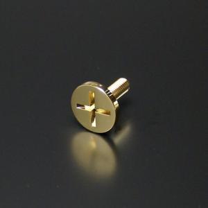 化粧ビス(真鍮製) Tクロスタイプ EPS-T12C-27 ゴールド|e-kanamono