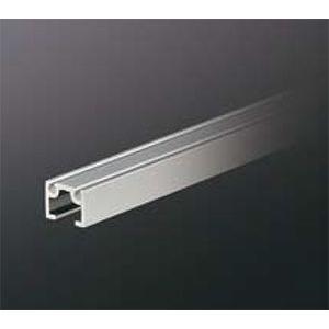 ピクチャーレール HPI-040 16mm幅(面設置/埋込設置兼用) 3000mm アルマイトシルバー 【軽量用】 【※サービスカット対応商品です】|e-kanamono