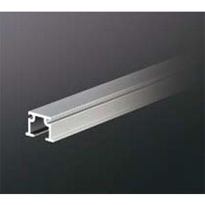 ピクチャーレール HPI-041 16mm幅(埋込設置用) 3000mm アルマイトシルバー 【軽量用】 【※サービスカット対応商品です】|e-kanamono