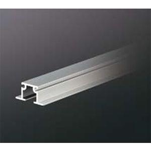 ピクチャーレール HPI-045 16mm幅(埋込設置用) 3000mm アルマイトシルバー 【軽量用】 【※サービスカット対応商品です】|e-kanamono