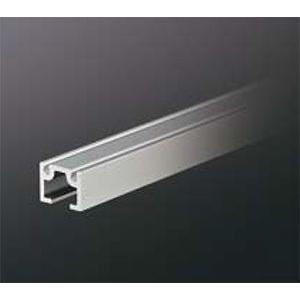 ピクチャーレール HPI-218 18mm幅(面設置/埋込設置兼用) 3000mm アルマイトシルバー 【中軽量用】 【※サービスカット対応商品です】|e-kanamono