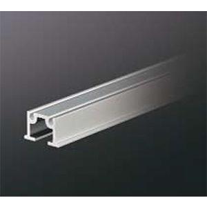 ピクチャーレール HPI-220 18mm幅(埋込設置用) 3000mm アルマイトシルバー 【中軽量用】 【※サービスカット対応商品です】|e-kanamono