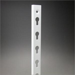 【ダボ柱】 KTD-3W スチール製 A型ダボ柱 1820mm ホワイト|e-kanamono