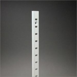 ステンレス棚柱 KTR-1SW 1819mm ホワイト|e-kanamono