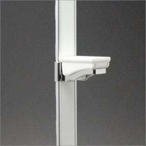 フラッシュ棚柱 KTR-4F用 専用棚受 ホワイト|e-kanamono
