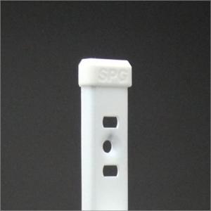 エンドキャップ ホワイト KTR-1Sステンレス棚柱 KTR-1S用|e-kanamono