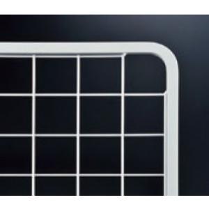 ネットパネル(6x13フレーム) NPD-1/L-1 白塗装 W 426mm x H 426mmの写真