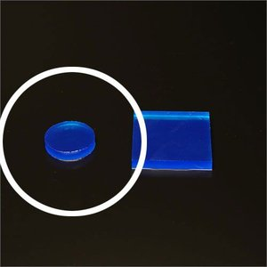 セフティクッションシール 25mm 丸型 ブルー 4枚1組|e-kanamono