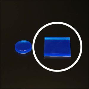 セフティクッションシール 40mmx40mm 正方形 ブルー 4枚1組|e-kanamono