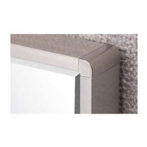 ロイヤル フレーム用アルミラインエッジ AL-EL-9/3F 〜2750mm ステンカラー ※2本セット販売商品です|e-kanamono