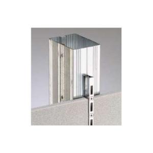ロイヤル 棚柱 チャンネルサポート(シングル) ASF-1 2400mm クローム|e-kanamono