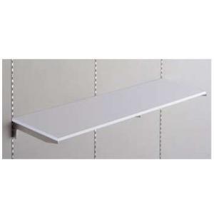 ロイヤル 棚受け 木棚用ブラケット R-132W 350 クローム ※片側のみ(左右セットではありません)