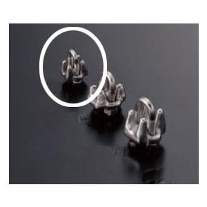 ワイヤークリップ RWE-036A 1.2〜1.5mmワイヤー用|e-kanamono