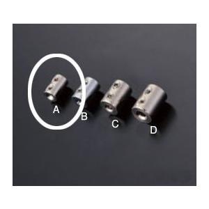 ワイヤー止め 2本通し用 RWE-127AW 0.8〜1.0mmワイヤー用|e-kanamono