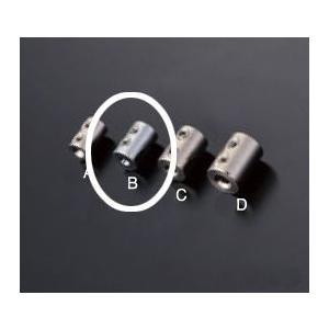 ワイヤー止め 2本通し用 RWE-127BW 1.2〜1.5mmワイヤー用|e-kanamono