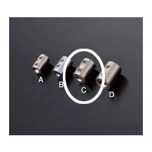 ワイヤー止め 2本通し用 RWE-127CW 2.0mmワイヤー用|e-kanamono