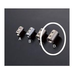 ワイヤー止め 1本通し用 RWE-127D 2.5mmワイヤー用|e-kanamono