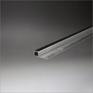 ステンレスミラーエッジ(小判穴付) 10x10x2000mm 鏡面(#600研磨)仕上 e-kanamono