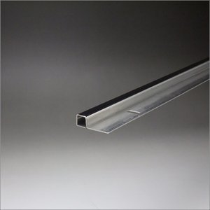 ステンレスミラーエッジ(小判穴付) 10x10x3000mm 鏡面(#600研磨)仕上 e-kanamono