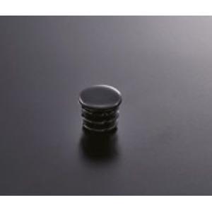 組立パイプシステム UPS-19C 19mm丸パイプ用 パイプキャップ(黒) ※1袋10個入|e-kanamono