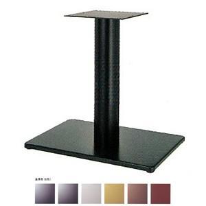 テーブル脚 ボンドS7550 ベース550x370 パイプ76.3φ 受座240x240 基準色塗装 AJ付 高さ700mmまで e-kanamono