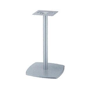 テーブル脚 クリーンS7400 ベース400x400 パイプ42.7φ 受座240x240 I41紛体塗装 AJ付 高さ700mmまで e-kanamono
