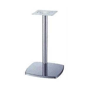 テーブル脚 クリーンS7400 ベース400x400 パイプ60.5φ 受座240x240 クロームメッキ AJ付 高さ700mmまで e-kanamono