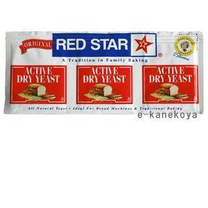 ドライイースト(3袋パック) RED STAR 7g×3|アリサン|e-kanekoya