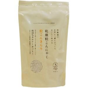乾燥粒こんにゃく・粒こんきらり 65g×5|トレテス /取寄せ|e-kanekoya