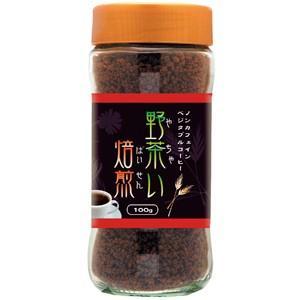 野茶い焙煎 チコリーコーヒー (ノンカフェインベジタブルコーヒー) 100g|Kyoto Natural Factory|e-kanekoya