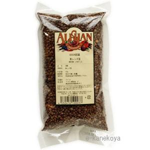茶レンズ豆 500g/オーガニック|アリサン /取寄せ|e-kanekoya