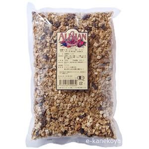 アップル・レーズン・くるみグラノラ 1kg (オーガニックまたは有機JAS)|アリサン /取寄せ|e-kanekoya