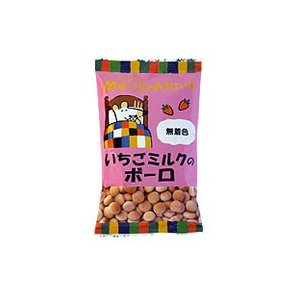 メイシーちゃんのおきにいり いちごミルクのボーロ 45g|創健社|e-kanekoya