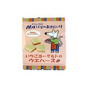 メイシーちゃんのおきにいり いちごヨーグルトのウエハース 12個|創健社|e-kanekoya