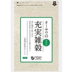 オーサワの充実雑穀(国内産) 250g オーサワジャパン e-kanekoya