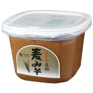 国内産 立科麦みそ(カップ) 750g|オーサワジャパン|e-kanekoya