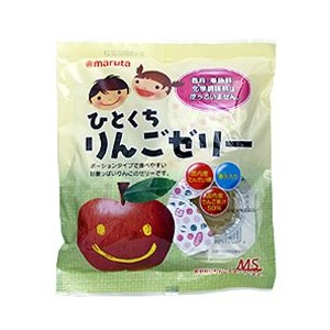 MSシリーズ ひとくちりんごゼリー 23g×7個|太田油脂(マルタ)|e-kanekoya