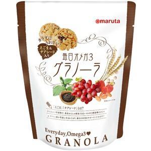 スマイルシリーズ 毎日オメガ3グラノーラ 6個|太田油脂(マルタ)|e-kanekoya
