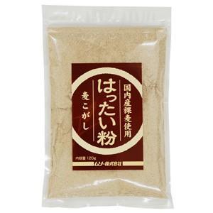 国内産裸麦使用 はったい粉(むぎこがし) 120g ムソー e-kanekoya