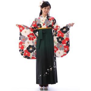 袴レンタル 卒業式 懐かしレトロが可愛いトレンド R1500C_E-H055-25-11
