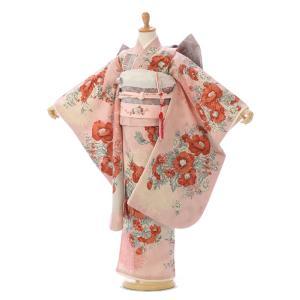 JILLSTUART|七五三着物レンタルフルセット(ピンク系)|女の子(七歳) E-7-195